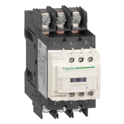 TESYS D CONTACTOR 3P(3NO) AC-3 440V 40A 24VDC COIL product photo Front View L