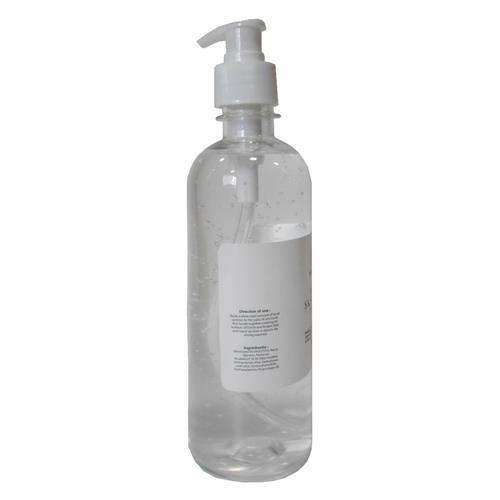 HAND SANITIZER 500ML 70% ALCOHOL GEL TYPE product photo Side View L