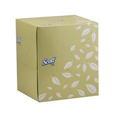 SCOTT® FACIAL TISSUE PLAIN BOX 2-PLY 75S CUBE product photo