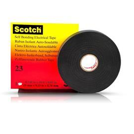 23 SCOTCH RUBBER SPLICING TAPE 50.8MM X 9.1M BLACK product photo
