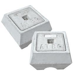 CONCRETE EARTH CHAMBER 328MM X 328MM X 328MM product photo