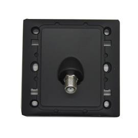 RADIANCE SAT & TV SOCKET 1G (ASTRO) SOLID BLACK product photo