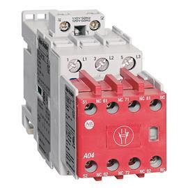 100S-C SAFETY CONTACTOR 3P 16A 24V DC (W/ELEC. COIL) BIFURAC product photo