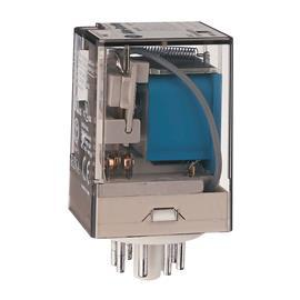 GP TUBE BASE RELAY 10A 12VDC 2 C/O CONTACTS product photo