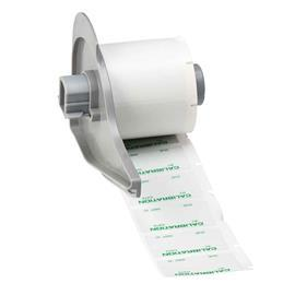 "SELF-LAMINATING VINYL WIRE & CABLE LABELS 1.5""X0.75"" GN/GY product photo"