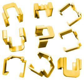 MP-COLORCLIP-YELLOW-50 FOR 2843048-1 (50PCS PER PKT) product photo