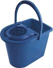 MB12 PLASTIC MOP BUCKET 12LITRE BLUE product photo