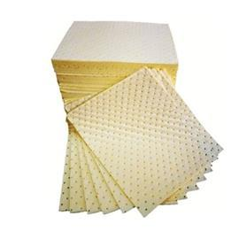 CORRISIVE CHEMICAL PADS DIMPLED LAMINATED 40CMX50CM YELLOW product photo