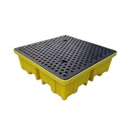 SPILL PALLET 4WAY 4DRUM 1220MM(L) X 1220MM(W) X 388MM(H) product photo