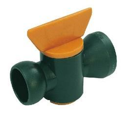 "IN-LINE PLASTIC VALVE 1/2"" BORE product photo"