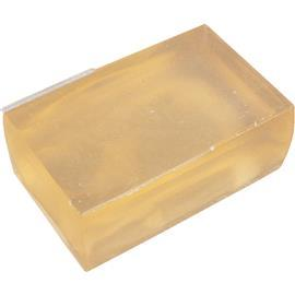 TRANSLUCENT PALE AMBER HOT DIP (SINGLE BAR) product photo