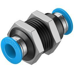 PUSH-IN BULKHEAD CONNECTOR QSS-8 product photo