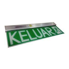 LED KELUAR SIGN RECESSED DOUBLE SIDED 12 X SUPERBRIGHT LED product photo