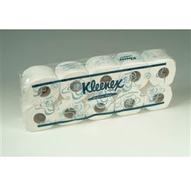 KLEENEX BATHROOM TISSUE SINGLE WRAP 2PLY 220'S (12BGS X 10RL/CTN) product photo