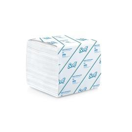 SCOTT® HYGIENIC BATHROOM 2-PLY TISSUE NON-EMBOSSED (75PKTS X 300S/CTN) product photo