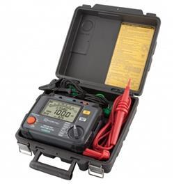 HIGH VOLTAGE INSULATION TESTER 250-5000V product photo