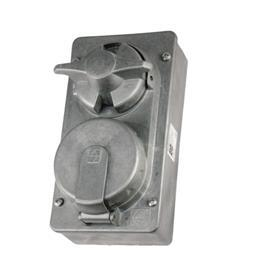 PLUG AND SWITCH SOCKET 30A 4P product photo