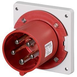 CEE PANEL MOUNTED INLET 63A 5P 400V IP44 product photo