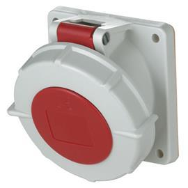 PANEL MOUNTED RECEPTACLE 63A 4P 400V IP67 product photo