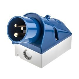 WALL MOUNTED INLET 16A 3P 230V 6H IP44 (MB32) product photo