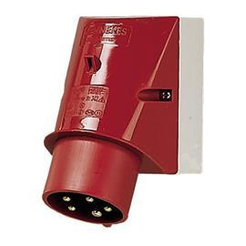 WALL MOUNTED INLET 32A 5P 400V 6H IP44 product photo