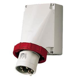 WALL MOUNTED INLET 125A 5P 400V 6H IP67 product photo