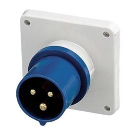 CEE PANEL MOUNTED INLET 16A 3P 230V IP44 product photo