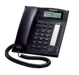 CORDED DESKPHONE WITH CALLER ID AND SPEAKERPHONE BLACK product photo