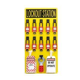 LOCKOUT STATION WITH COMPONENT product photo