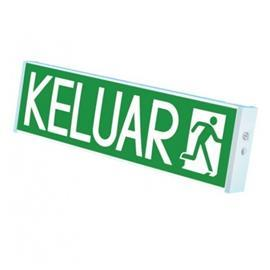 SUPER BRIGHT LED KELUAR SIGN BOX TYPE SURFACE MOUNT SGL SIDE product photo