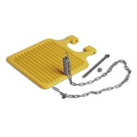 FOOT PEDAL WITH STAINLESS STEEL CHAIN product photo