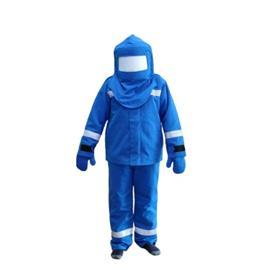FLASH 44.8CAL, JACKET + PANT, GLOVE, HOOD ROYAL BLUE SIZE L product photo