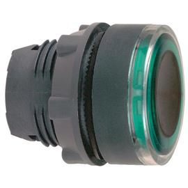HARMONY XB5 ILLUMINATED PUSHBUTTON HEAD Ø22 FOR  LED GREEN product photo