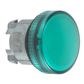 HARMONY XB4 PILOT LIGHT HEAD Ø22 ROUND GREEN PLAIN LENS product photo