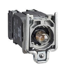 HARMONY XB4 LIGHT BLOCK W/BA9S INCANDESC. 110-120V 1NO+1NC product photo