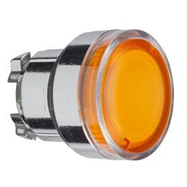 HARMONY XB4 ILLUM PB HEAD FOR BA9S BULB ORANGE product photo