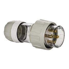 S56 STRAIGHT PLUG 250V 32A 4R IP66 GREY product photo
