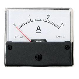 BP-670 DC AMMETER 20A 60X70MM product photo