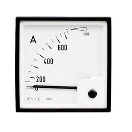 BE-96 AC AMMETER 96X96MM 20A product photo