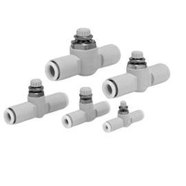 FLOW CONTROL WITH FITTING FOR 6MM TUBE product photo