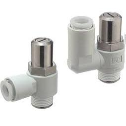 AS FLOW CONTROLLER M5X0.8 MALE INLET X3.2MM TUBE OUTLET product photo