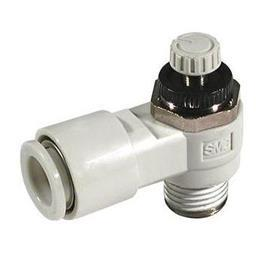 SPEED CONTROLLER R 1/4 MALE INLET X 8MM TUBE product photo