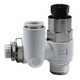ASP630F FLOW REGULATOR R 1/2 MALE INLET X12MM TUBE OUT product photo