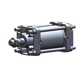 CA2 AIR CYLINDER WITH AUTO SWITCH 63MM BORE 50MM STROKE product photo