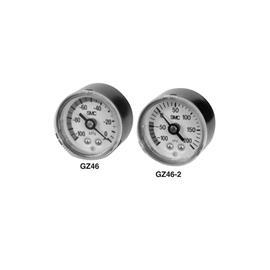 GZ ANALOGUE VACUUM GAUGE MAX P. 0KPA CONN. R 1/4, R 1/8 product photo