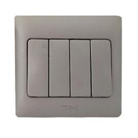 RADIANCE SWITCH 16A 4G 1W MATTE SILVER product photo