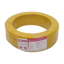 PVC CABLE 1.5MM² (7/0.53) YELLOW product photo