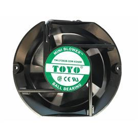 "AIR BLOWER BEARING TYPE 4"" 110VAC 18W product photo"